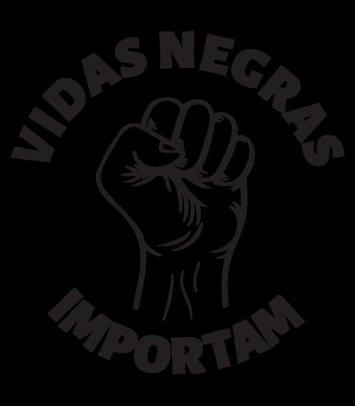 Camiseta Cinza/Branca Vidas Negras Importam | Reserva INK